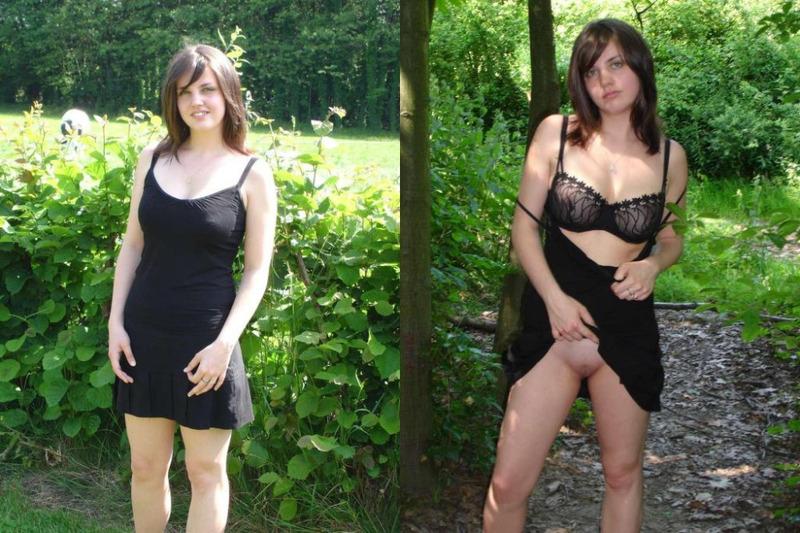 Подборка развратных девушек в одежде и в стиле НЮ