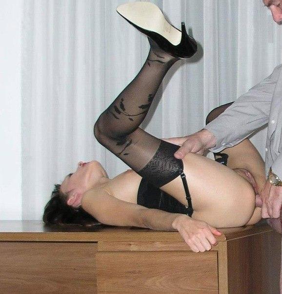 Страстный секс в разных местах