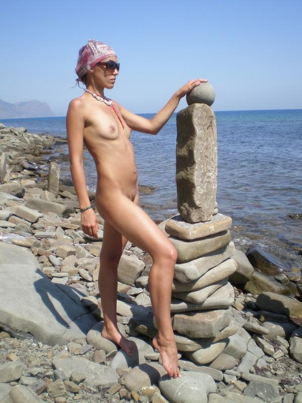 Интимные фото с отдыха у моря